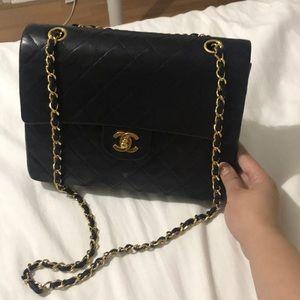 💯Authentic Vintage Chanel CC double flap 2.55